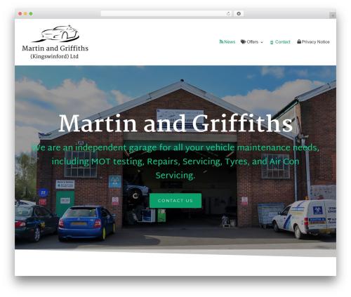 neve car rental WordPress theme - martinandgriffiths.co.uk