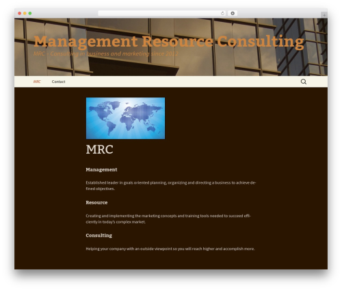 r2d2 business WordPress theme - managementresourceconsulting.com