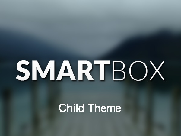 SmartBox Child Theme WordPress theme