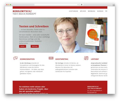 Theme WordPress Mendlewitsch - mendlewitsch.de