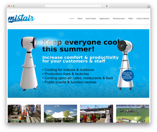 VistaTheme best WordPress theme - mistair.net.au
