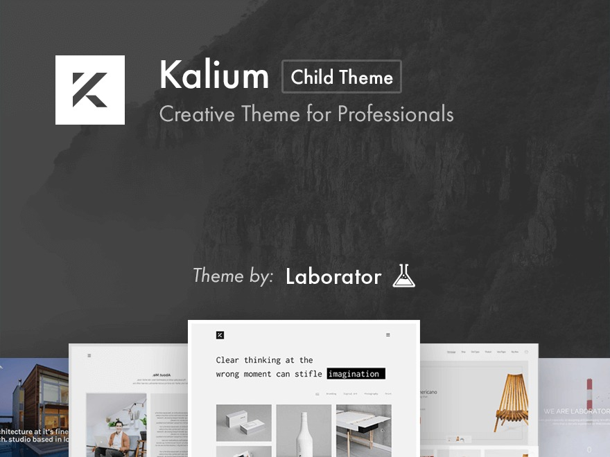 WordPress template Kalium