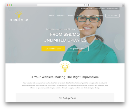Free WordPress Page scroll to id plugin - medibrite.com
