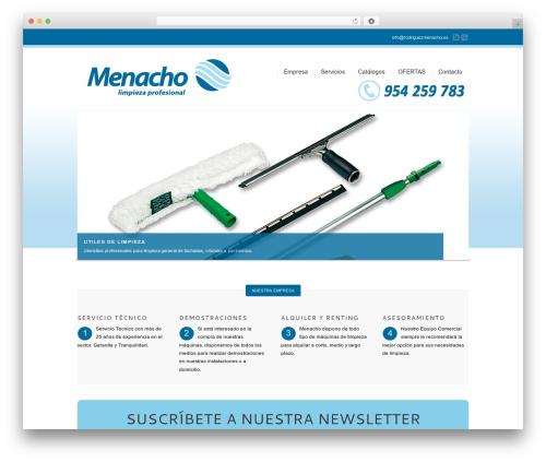 Corona WordPress theme - menacho.eu