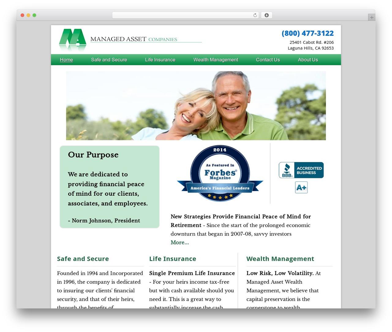 Dynamik-Gen best WordPress theme - managedasset.com