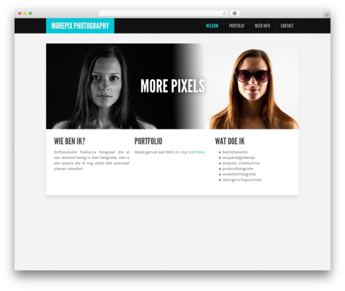Feather WordPress theme - morepix.eu