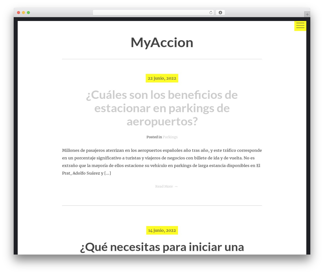 hexo free website theme - muchamyaccion.es