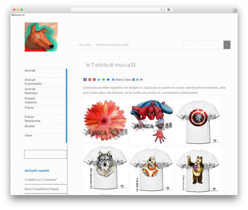 Metro CreativeX WordPress template free download - mucca33.com