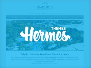 Palazio best hotel WordPress theme