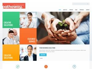 Pathaway theme WordPress portfolio