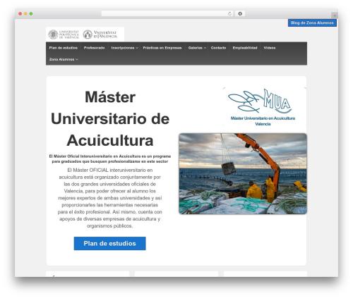 Responsive WordPress template free - macuicultura.webs.upv.es