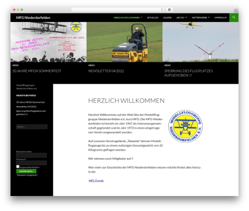 Sequel theme WordPress - mfg-niederdorfelden.de