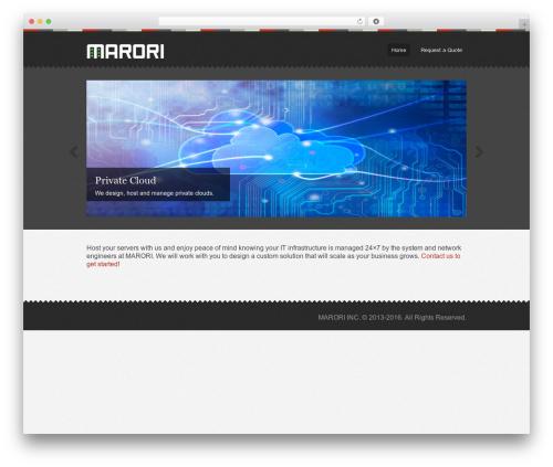 Swatch template WordPress - marori.com