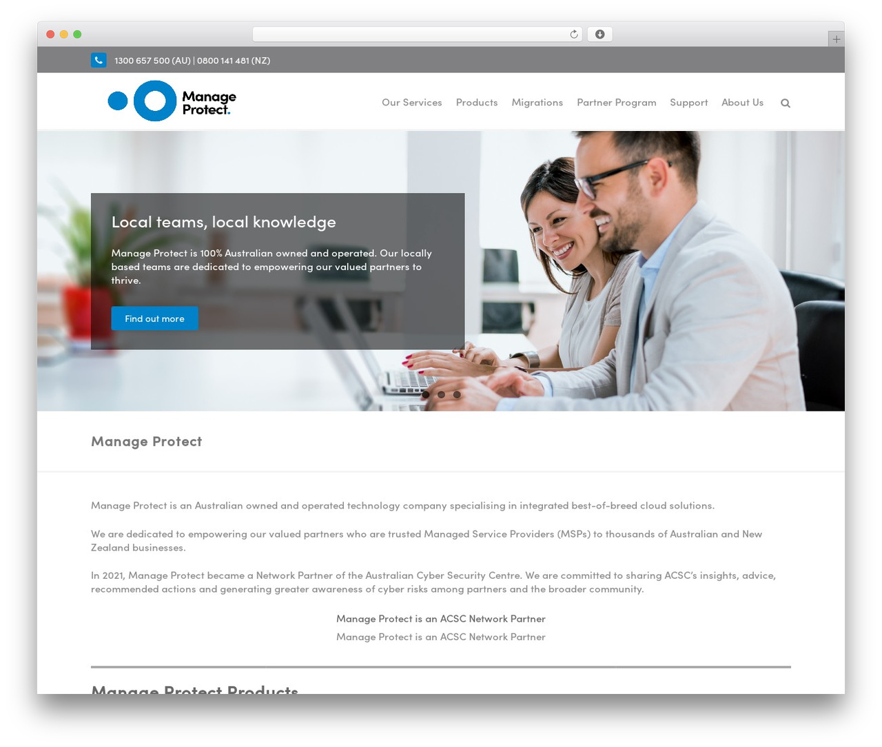 Template WordPress THBusiness Pro - manageprotect.com