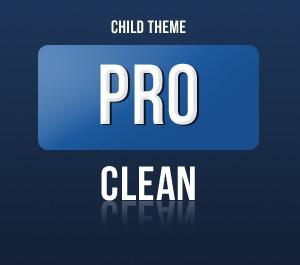 Theme WordPress Pro Framework - Clean