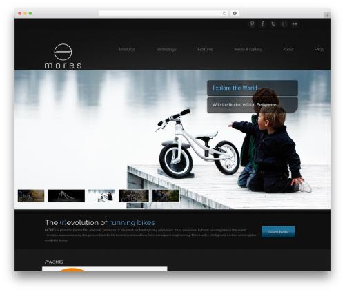 WordPress theme Epic - moresdesign.de