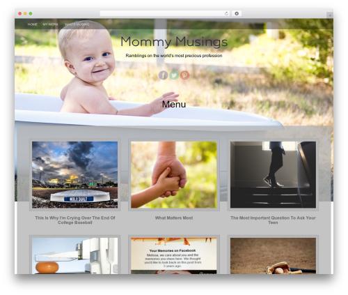 WordPress theme Fifteen Plus - mommymusings.org