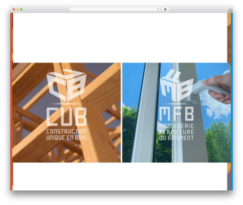 WordPress theme Nine - mfb-cub.fr
