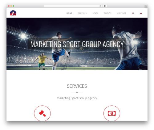 WordPress theme Vela - msg-agency.cz