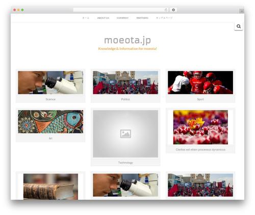 WP template Inkzine - moeota.jp