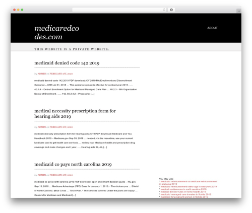 WP template Noble - medicaredcodes.com