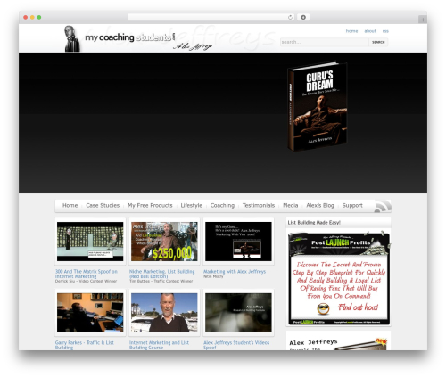 WP theme On Demand - mycoachingstudents.com