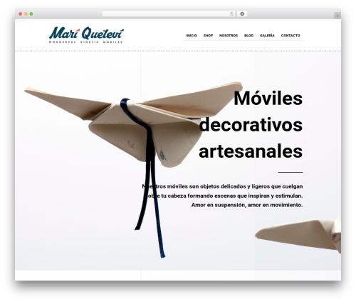 WP theme The Retailer - mariquetevi.com