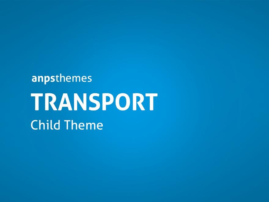 WP theme Transport Child Theme