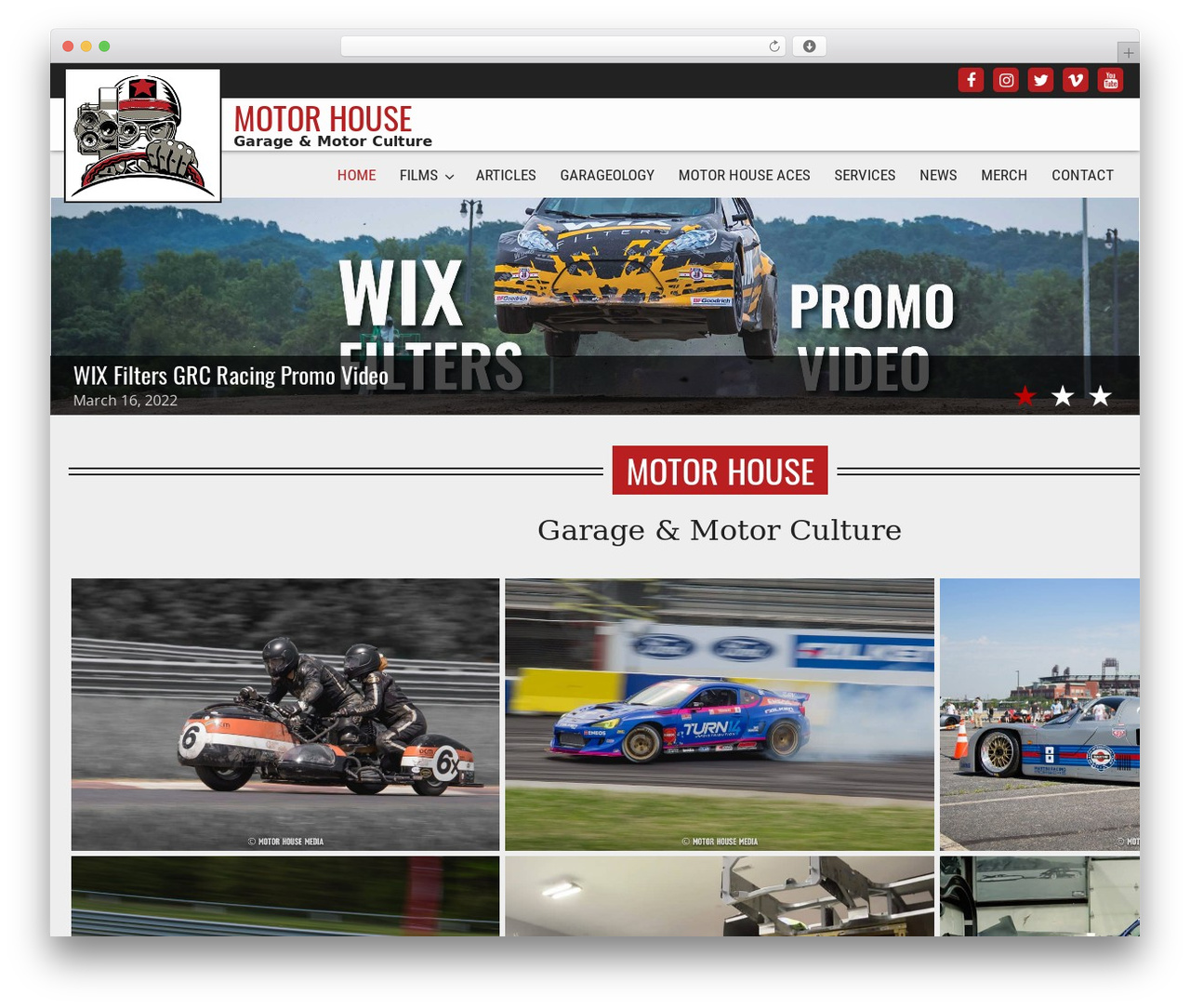 Best WordPress theme Dynamik-Gen - motorhousemedia.com
