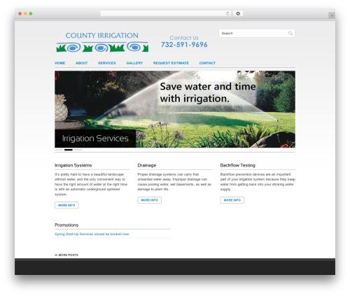 Clean Slate WordPress theme - mycountyirrigation.com