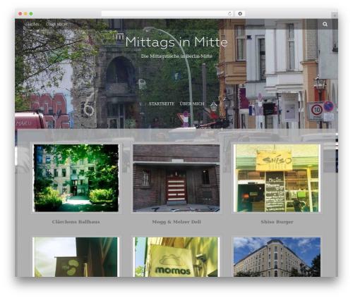 Fifteen Plus WordPress theme - mittagsinmitte.de