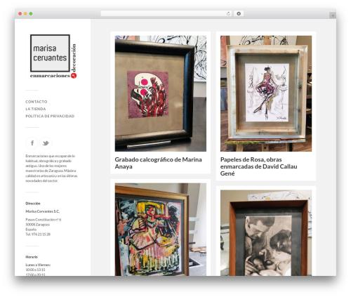 Fukasawa WordPress theme free download - marisacervantes.com