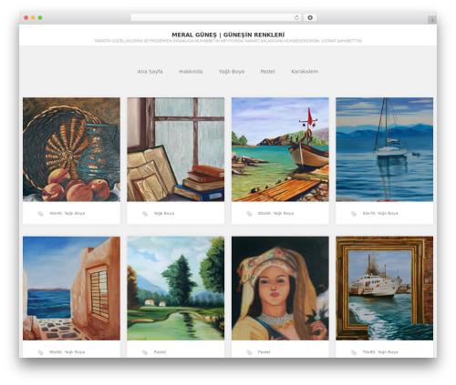 GK Portfolio WordPress theme download - meralgunes.com
