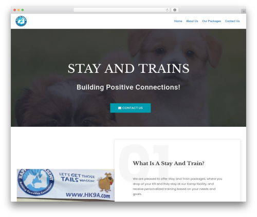 neve top WordPress theme - stayandtrain.com