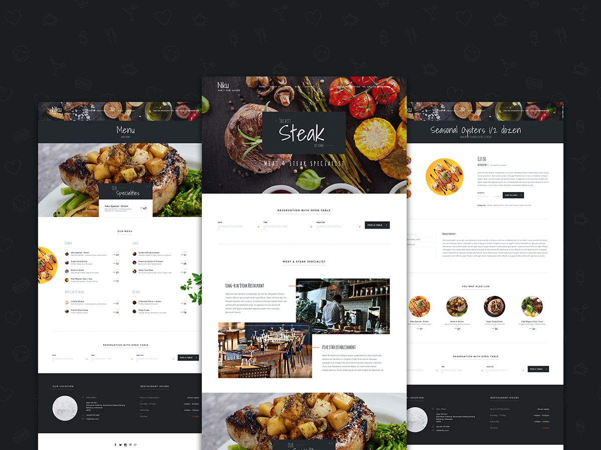 Niku WordPress ecommerce template