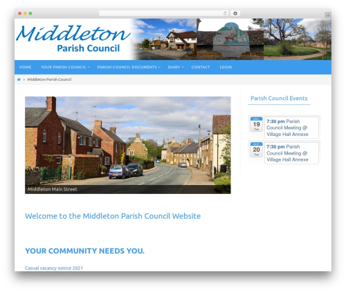 Free WordPress MetaSlider plugin - middleton-northants-pc.gov.uk