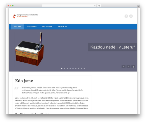 Pinboard WP template - mikulov.umc.cz