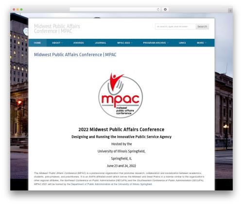 PressEvent WordPress theme - midwestpac.com