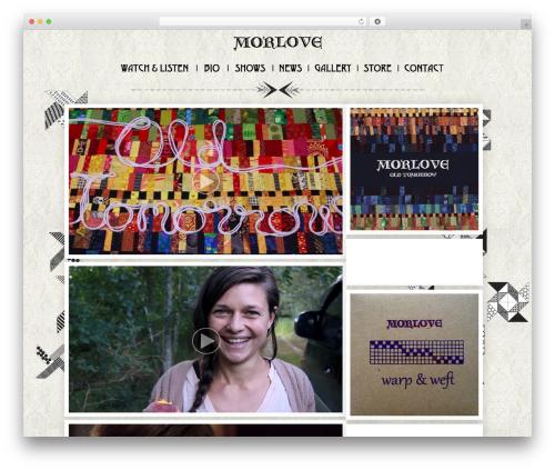 ShapeShifter 2 WordPress page template - morlove.ca