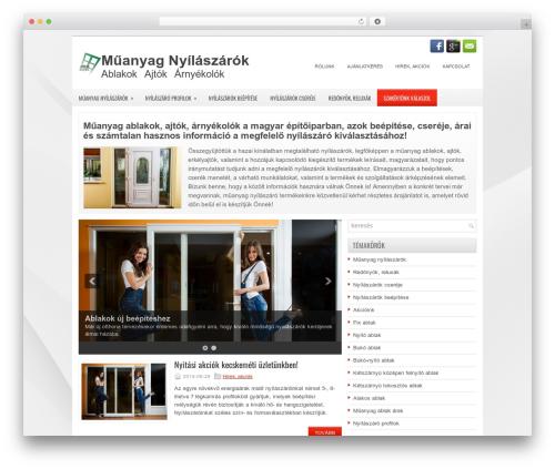 WordPress theme iBiz - muanyag-ablakok.hu