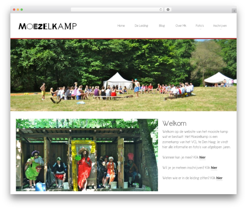 WordPress theme Kaleidoscope - moezelkamp.nl