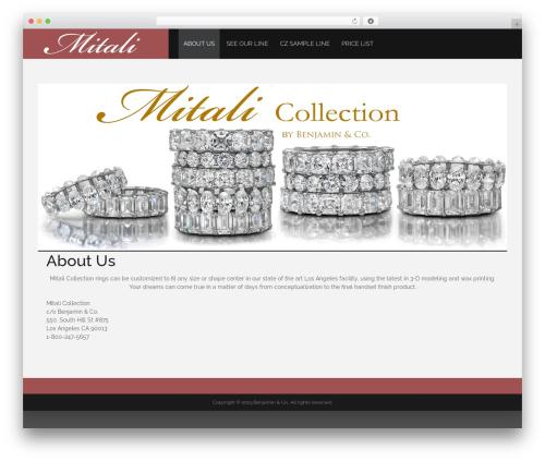 WordPress theme Prelude Lite - mitalicollection.com