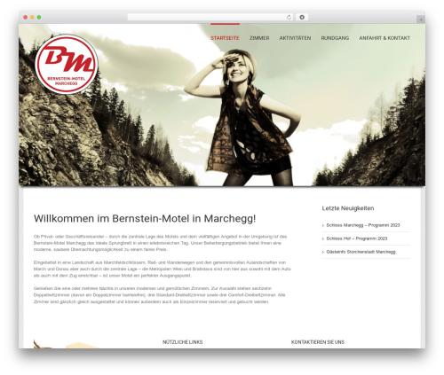 Avada theme WordPress - motel-marchegg.at