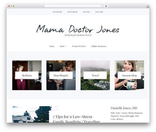Carbis WordPress theme design - mindonmed.com