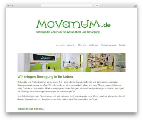 childTheme template WordPress - movanum.com