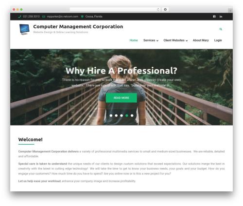 Corporate Club WP template - marypparker.com