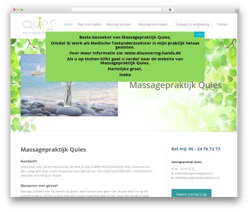 Free WordPress TablePress plugin - massagepraktijkquies.nl