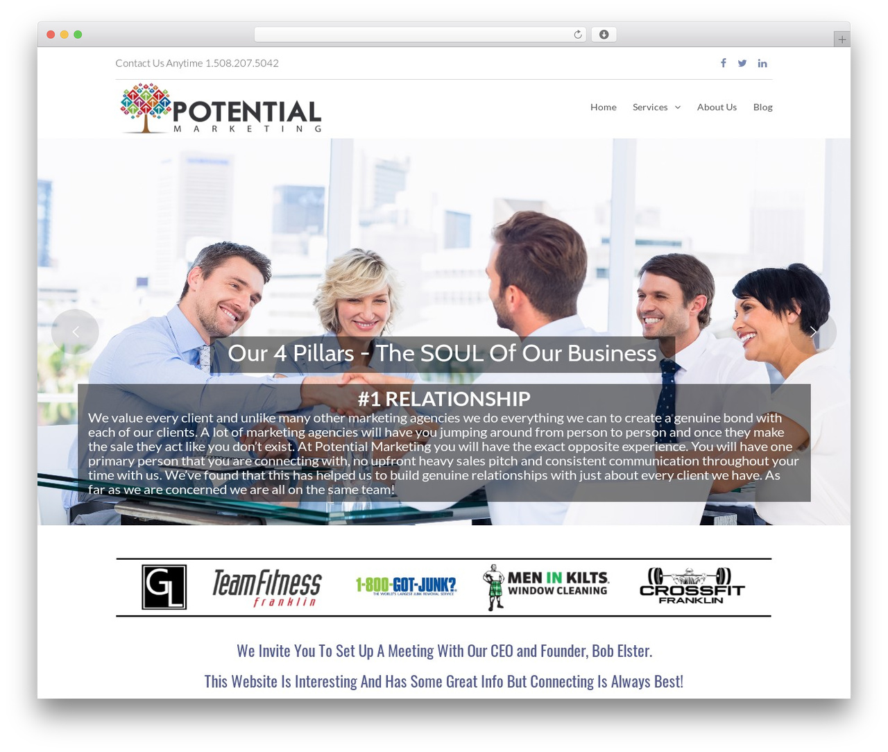 Eden top WordPress theme - marketingwithpotential.com