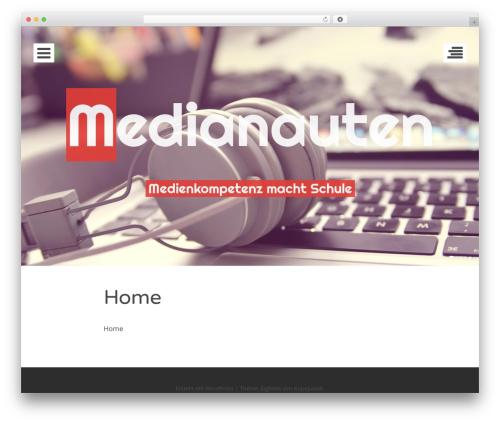Eighties free WordPress theme - medianauten.info