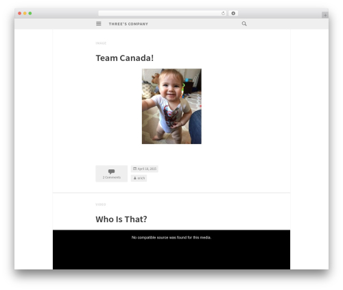 Isola business WordPress theme - morisse.us